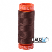 Aurifil 50 Cotton Thread - 1285 (Medium Bark)
